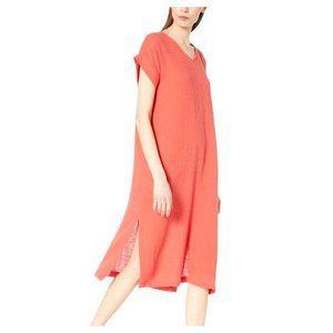 Eileen Fisher Organic Cotton Lofty Gauze Dress